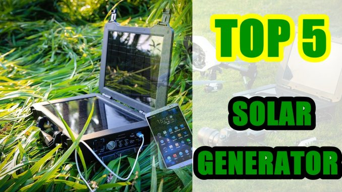 Best Solar Generator 2020 . Top 5 Best Solar Generators 2020 - SteMir