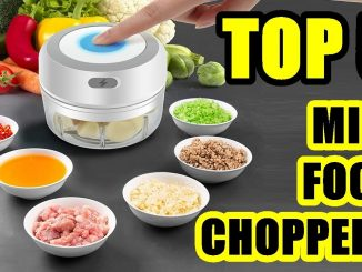 TOP 5: Best Mini Food Chopper for Small Kitchens 2021 | Electric and Manual