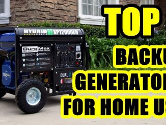 TOP 5: Best Backup Generator for Home Use 2021 | Dual Fuel
